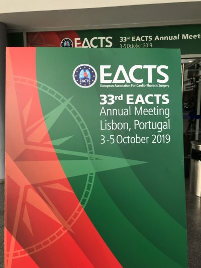 EACTS conference 2019
